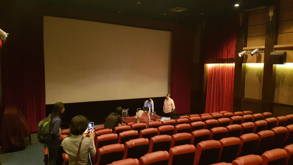 The Film Archive's screening theatre at Salaya